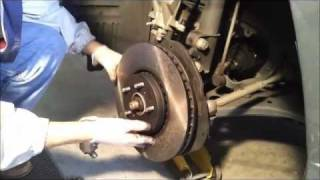 2008 Lexus RX350 Brake Pad and Disc Replacement