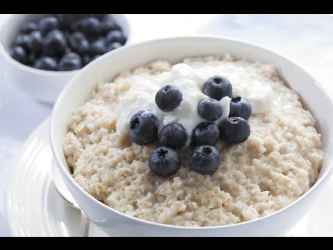 Овсянка на завтрак для похудения. Правила приготовления. Видео
