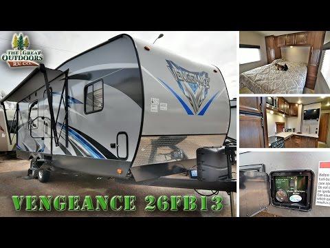 2017 FOREST RIVER VENGEANCE 26FB13 V129 Colorado Dealer Toy Hauler