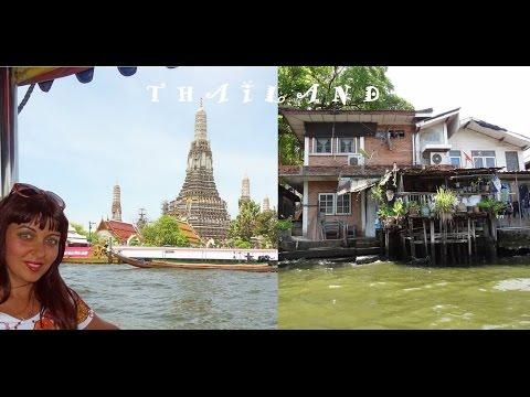 Bangkok Slums, and Palaces, Canal Life