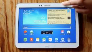 Samsung Galaxy Tab 3 10.1 Interface and Speed Demo