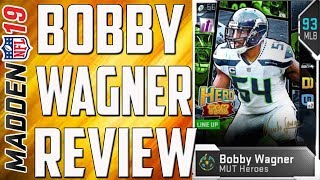 How Good is MUT Heroes 92 Overall Bobby Wagner? Madden 19 Card Review
