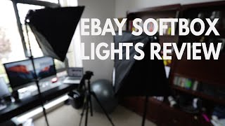 Cheap eBay Softbox Lights Review