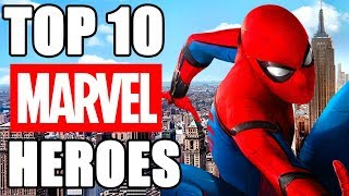 Top 10 Heroes de Marvel (MCU)