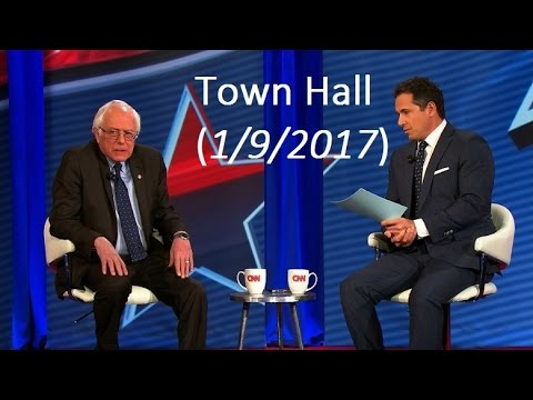 Bernie Sanders: Intense CNN Town Hall (1/9/17)
