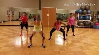 Party up choreography zumba celeste