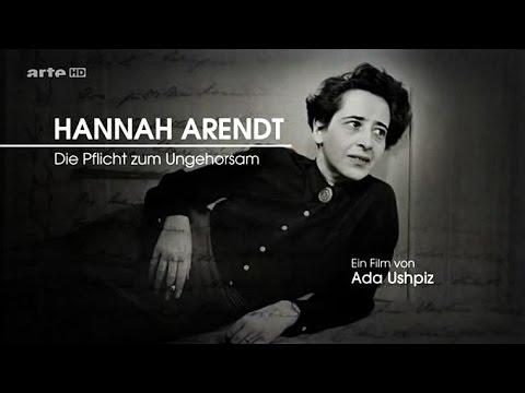 Hannah Arendt - Die Pflicht Zum Ungehorsam (2015)