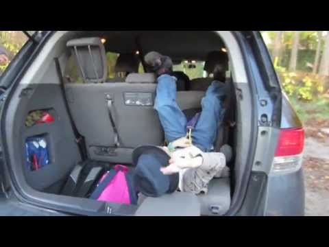2014 honda odyssey hidden feature of 3rd row magic seats youtube. Black Bedroom Furniture Sets. Home Design Ideas