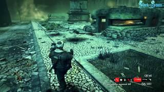 B-S.Прохождение Zombie Army Trilogy. Часть 7 (Библиотека)