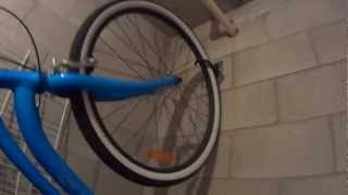 Hang You Bike On A Wall For Organization