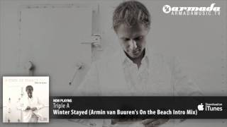 Triple A - Winter Stayed (Armin van Buuren