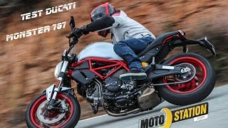 Essai Ducati Monster 797