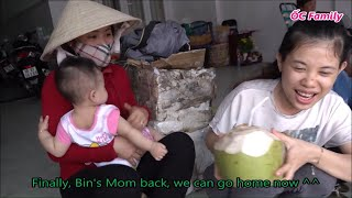 Beautiful Mom Become Rich By Selling Fruits With Her Cute Baby   ỐC Family