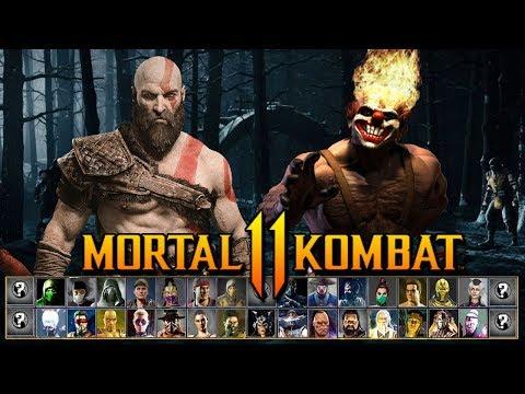 Mortal Kombat 11 - TOP 6 Personajes Invitados - DLC Kombat Pack, Deadpool, Doomguy, Kratos