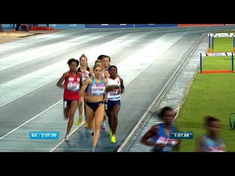 Athletics Grand Prix series: Caster Semenya wins the 1000m race (2:35:43)