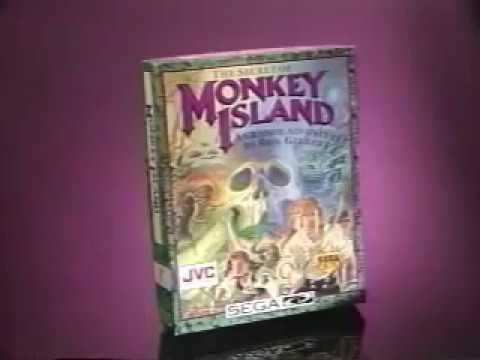 The Secret of Monkey Island Sega CD Commercial