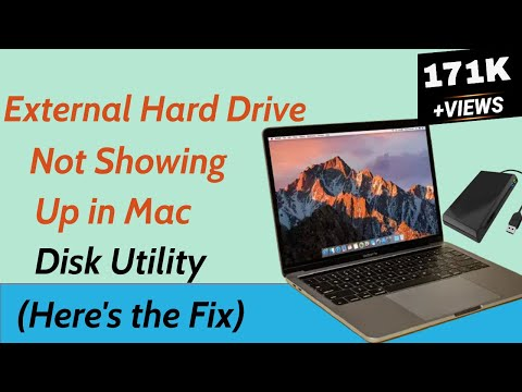 External Hard Drive Not Showing Up In Mac Disk Utility