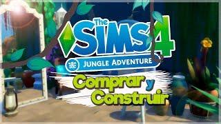 REVIEW Los Sims 4 AVENTURA EN LA SELVA | MODO COMPRAR & CONSTRUIR (2/3)