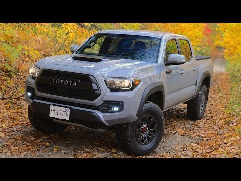 Toyota Tacoma Trdpro Review Youtube