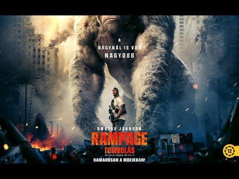 RAMPAGE - TOMBOLÁS - Magyar szinkronos előzetes #1 (12E)