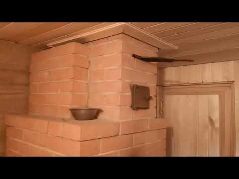 Как правильно топить кирпичную печь в бане
