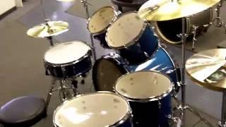 Tama Imperialstar 6 Piece Ocean Blue Mist Drum Set