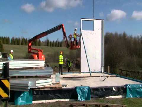 Offsite Fast Track Fabric First Low Energy Housing