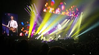Paul McCartney - Live at Barclays 9-19-2017 Birthday (with Jimmy Fallon and Lorne Michaels)