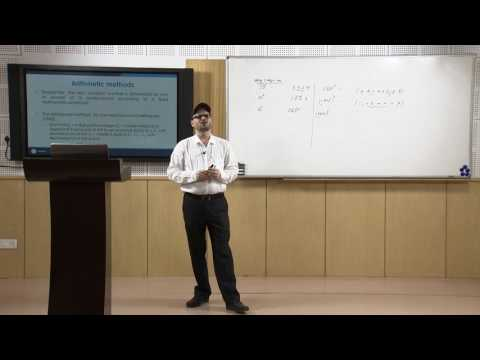 Lecture 16 - Generation of Random Numbers