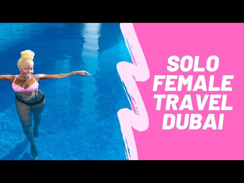 Single Black Woman Solo Traveler in Dubai Vlog #3