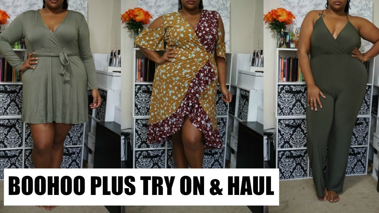 d44b86994c8 Plus Size Fashion Haul| BooHoo Plus