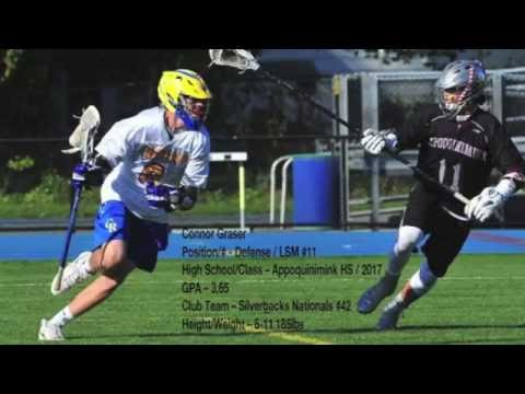 Connor Graser Lacrosse 2016 Highlight Tape