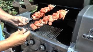 Nr. 103 Chicken Bacon Grillfackeln / Grillspieße --- Klaus grillt