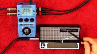 Just How Amazing Can A Dubreq STYLOPHONE Sound With A ZOOM MS-70CDR
