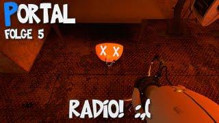 Das Radio ist kaputt. :( | Let's Play Portal [FINALE]