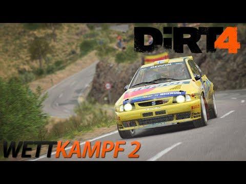 DiRT 4 - Wettkampf 2 [HD] [GER] Ford Escort MK2