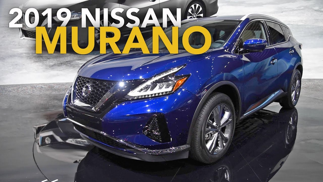 2019 Nissan Murano First Look 2018 La Auto Show Youtube