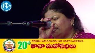 Annamaya Keertanalu By Dr. Shoba Raju  - 20th TANA 2015 Conference