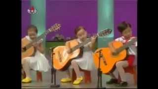 Japon ocuklarn muhteem gitar allar