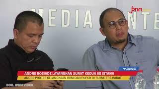 Politikus Gerindra Andre Rosiade Kembali Menyurati Presiden Jokowi, Begini Permintaannya - JPNN.com