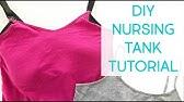 Cheap Diy Nursing Tank Cami In Under 10 Mins