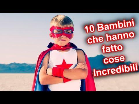 10 BAMBINI PRODIGIO che ti faranno sentire vecchio