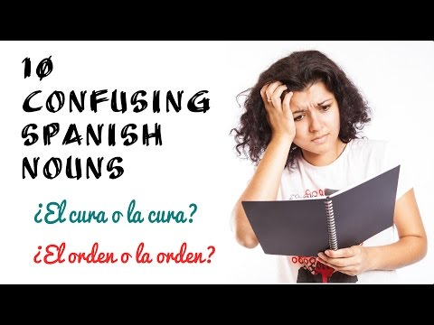 10 Confusing Spanish Words: Gender Makes a Difference