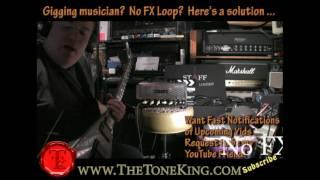 Geen FX Loop? Geen Probleem. Hier is een handige tip om mee op te treden gitaristen! TTK Stijl!