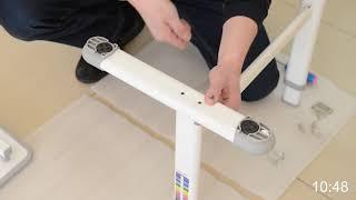 Комплект парта і стільчик Evo-Evo kids-06 - інструкція по збірці