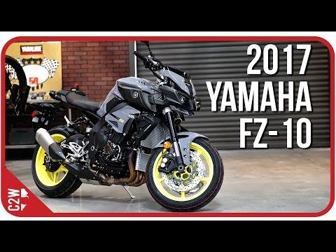 2017 Yamaha FZ-10 (MT-10) | First Ride - YouTube