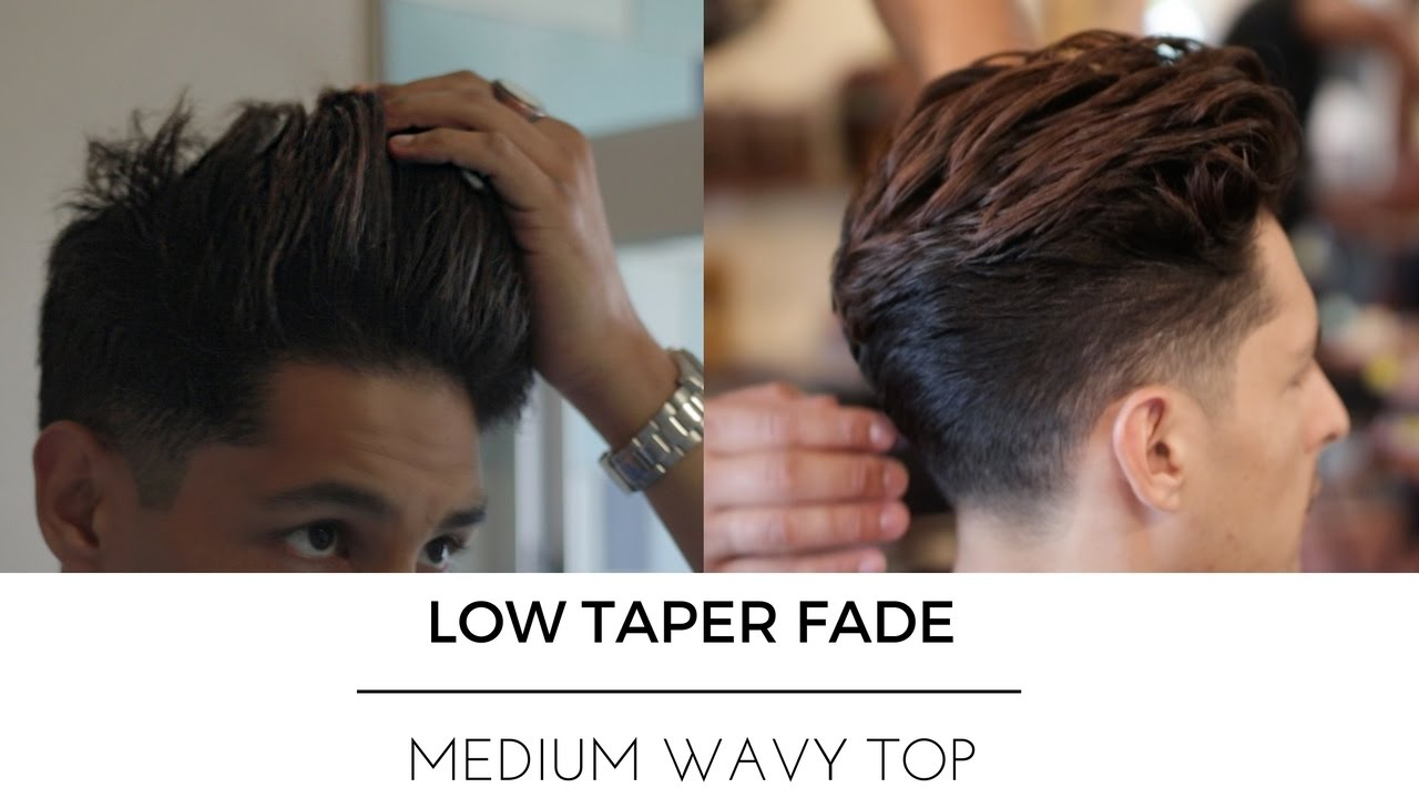 the best low taper high volume fade | men's hair trends 2017 - youtube