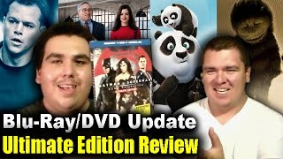 Blu-Ray/DVD Update + Batman v Superman Ultimate Edition Review - July 27, 2016