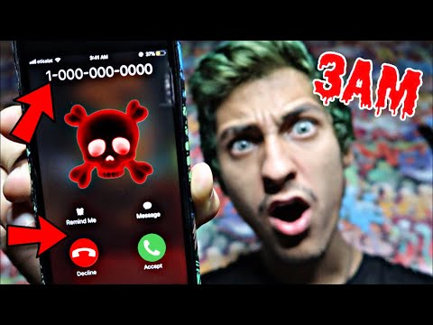 CALLING NUMBERS YOU SHOULD NEVER CALL AT 3AM!! *OMG SO SCARY*