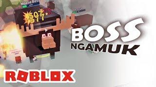 ROBLOX INDONESiA | MOOSE BOSS MENGAMUK 😂